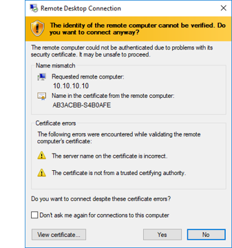 Discovery credentials issue with my Windows 10 host - IT