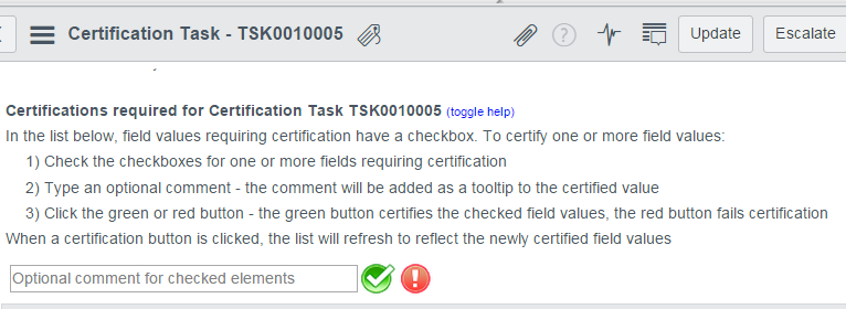data certification task - IT Business Management - ServiceNow Community