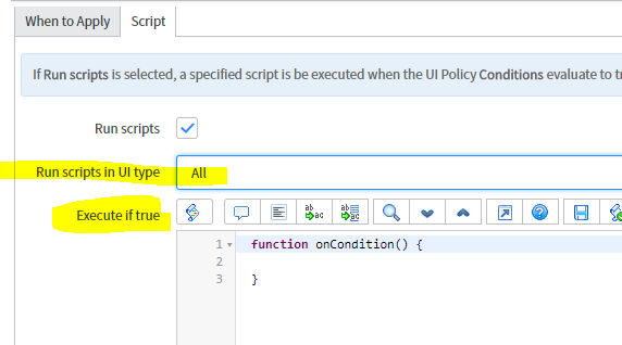 Clear a variable in service portal after change of other