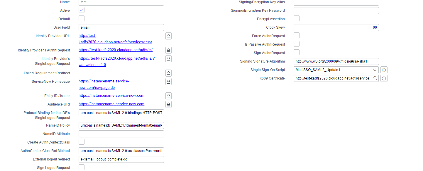 ADFS Logout Issue - Solved - IT Service Management