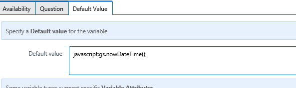 How to set date/time field - Now Platform - ServiceNow Community