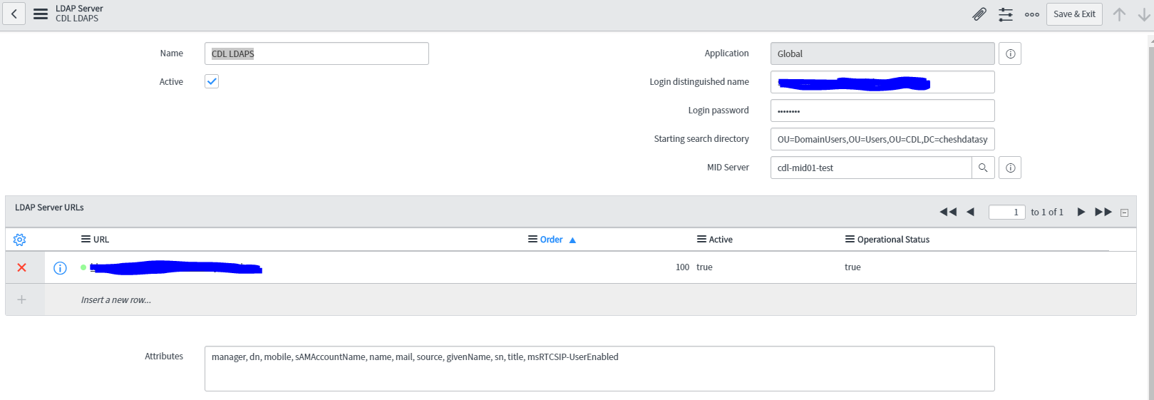 Getting users Managers to import from LDAP  - Service