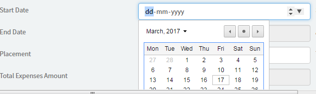 I want to have mm-dd-yyyy format for Service Portal date