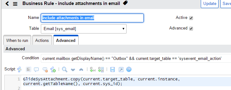 Attachments in notifications - Now Platform - ServiceNow
