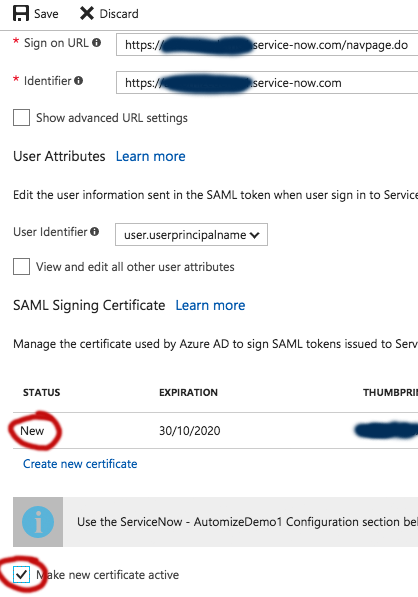 How to: Implement Azure AD SSO with ServiceNow - Now Platform