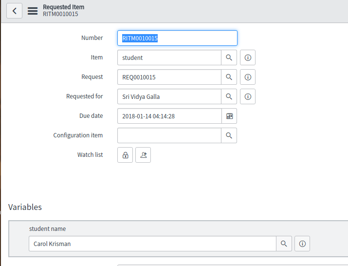 Unable to update 'requested_for' field on sc_request - IT