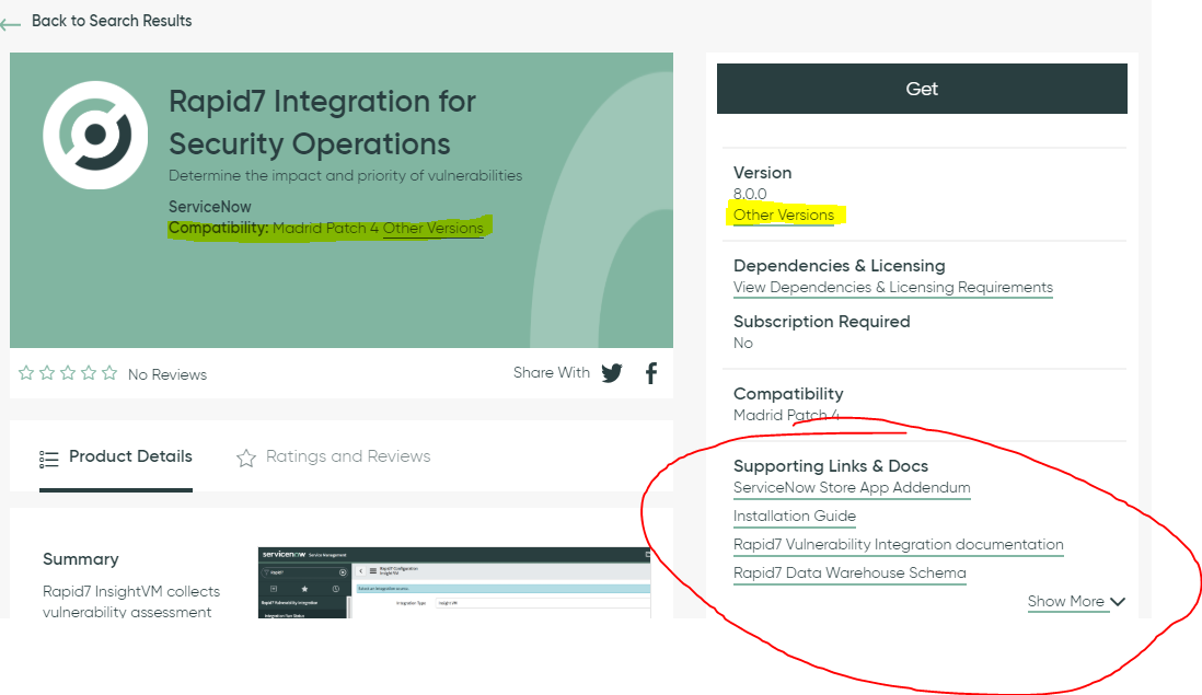 Rapid7 Integration - Security Operations - ServiceNow Community