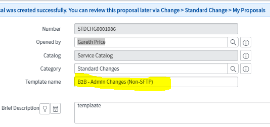 How do i rename a standard change template it service management change the name click save and then approve the amendment maxwellsz