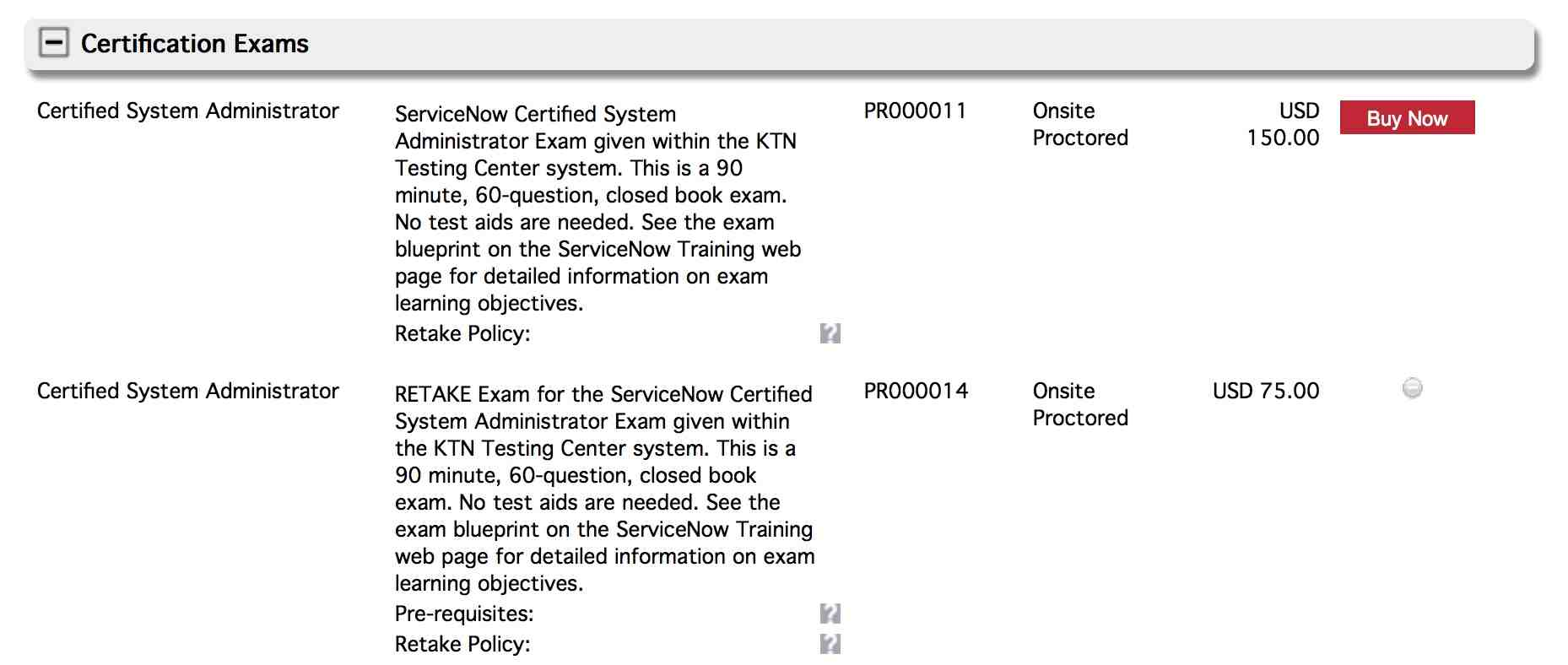 What Are The Exam Fees For Admin Certification Training And