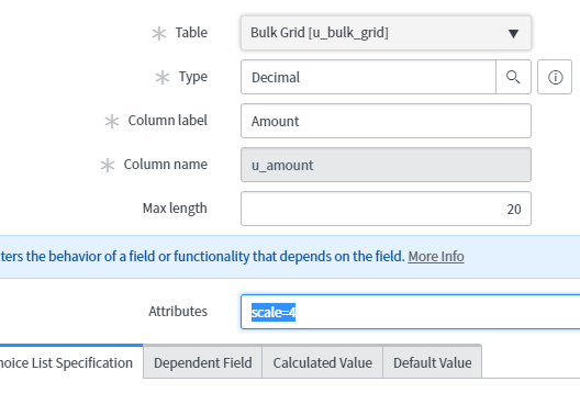how to retains decimal field 2 places after record submits
