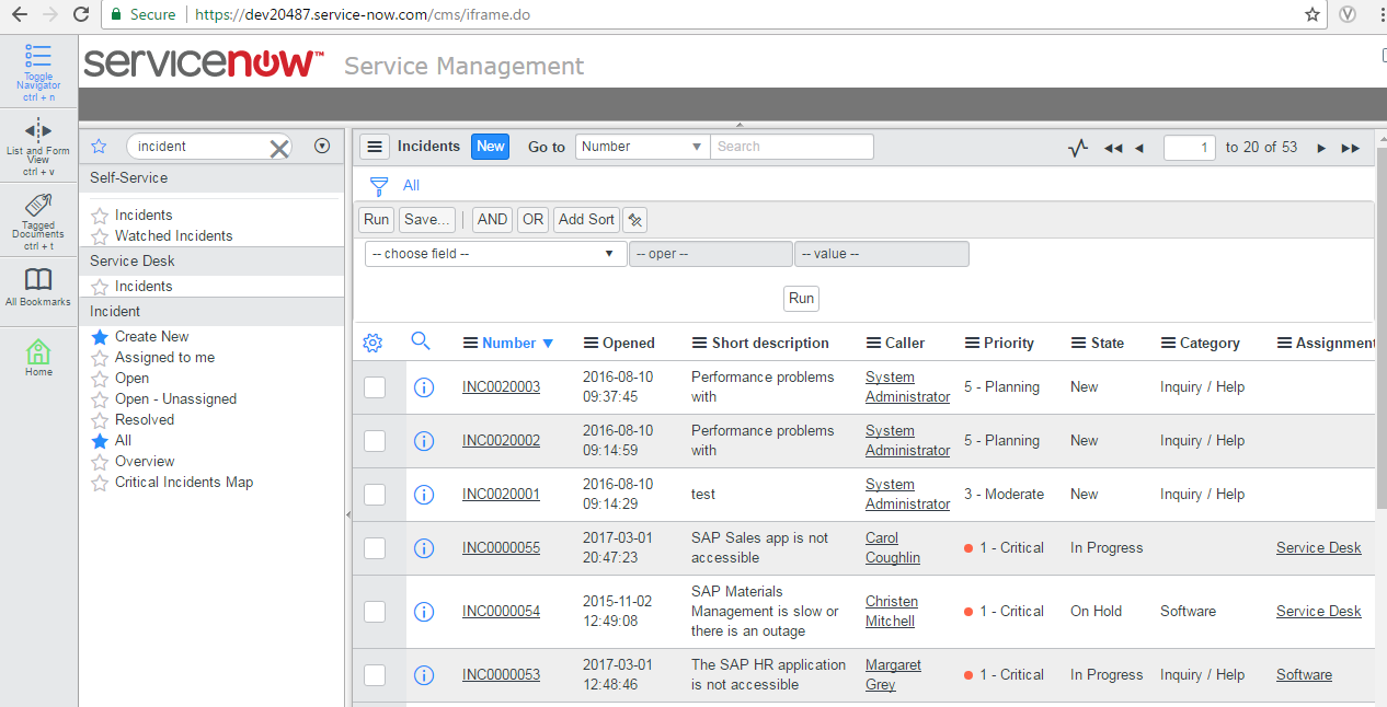 issue with servicenow displayed in iframe - Developer