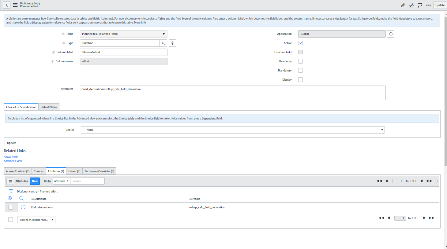 Duration Field Display - Developer Community - ServiceNow