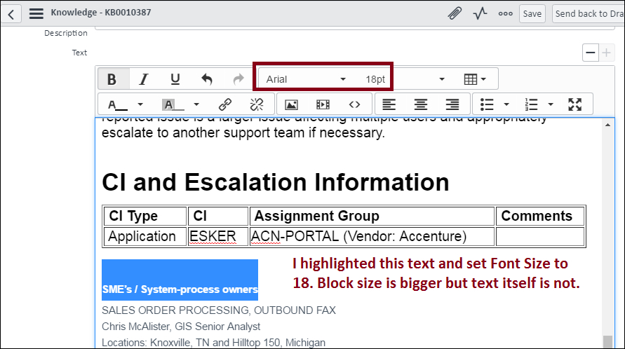 TinyMCE HTML Editor Fix for Funky Fonts & Formatting in Istanbul
