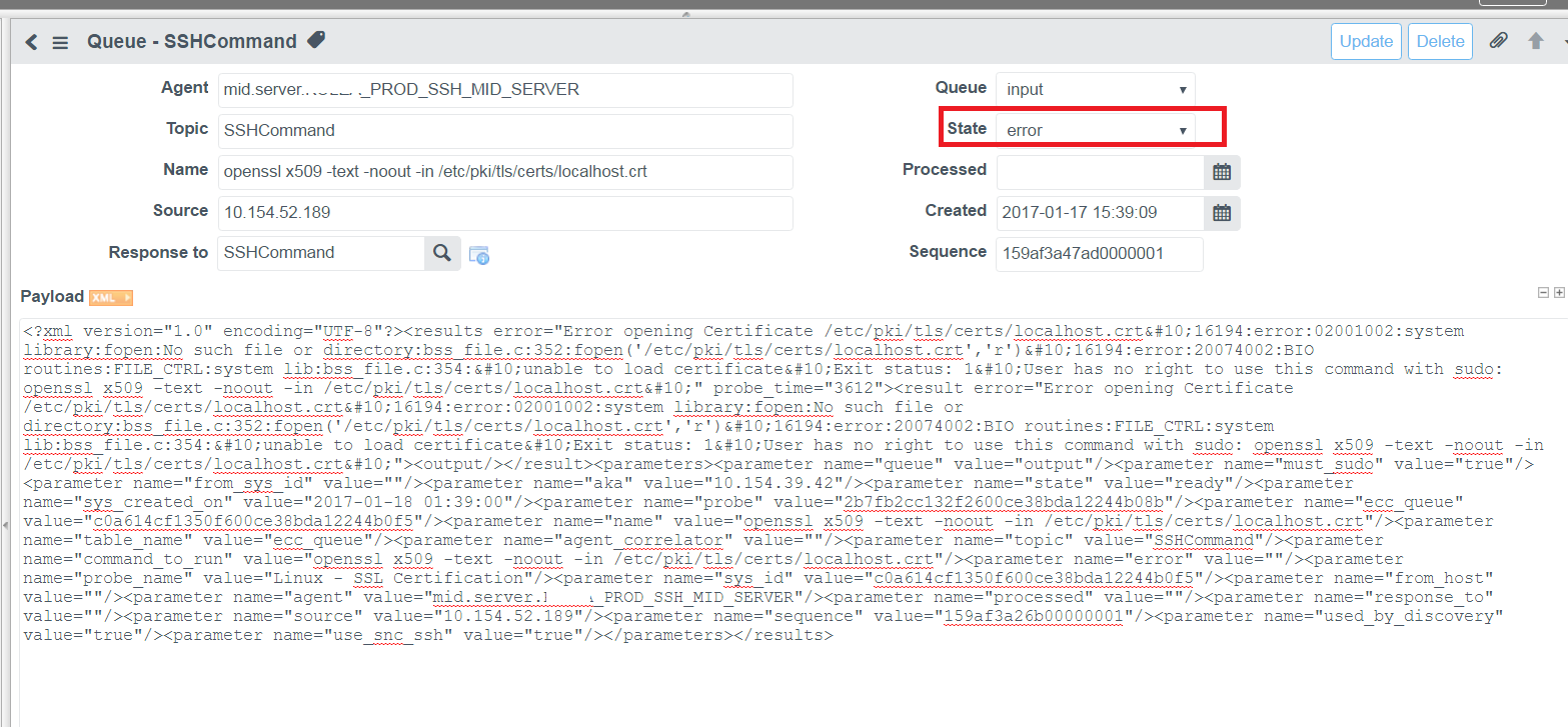 Need Help with Using the Discovery Tool for SSL Certificate