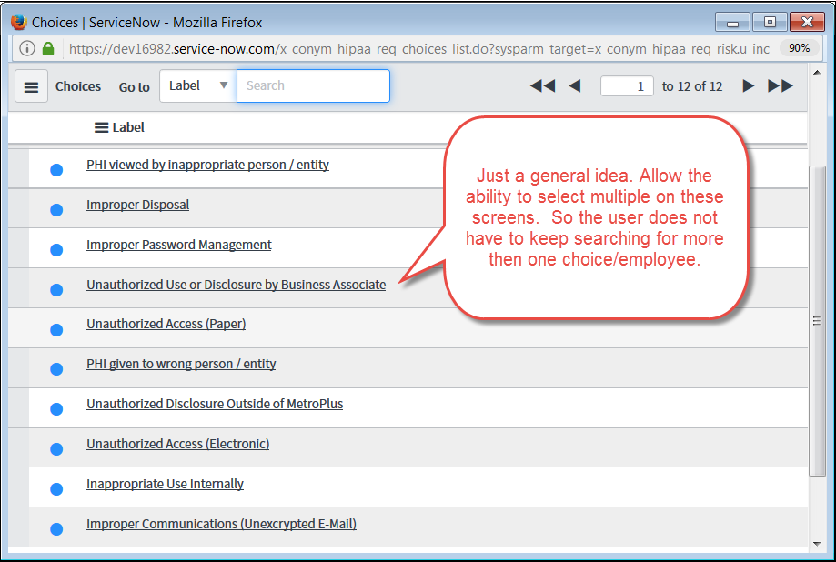 Choice List (from another table) - Select Multiple for Forms