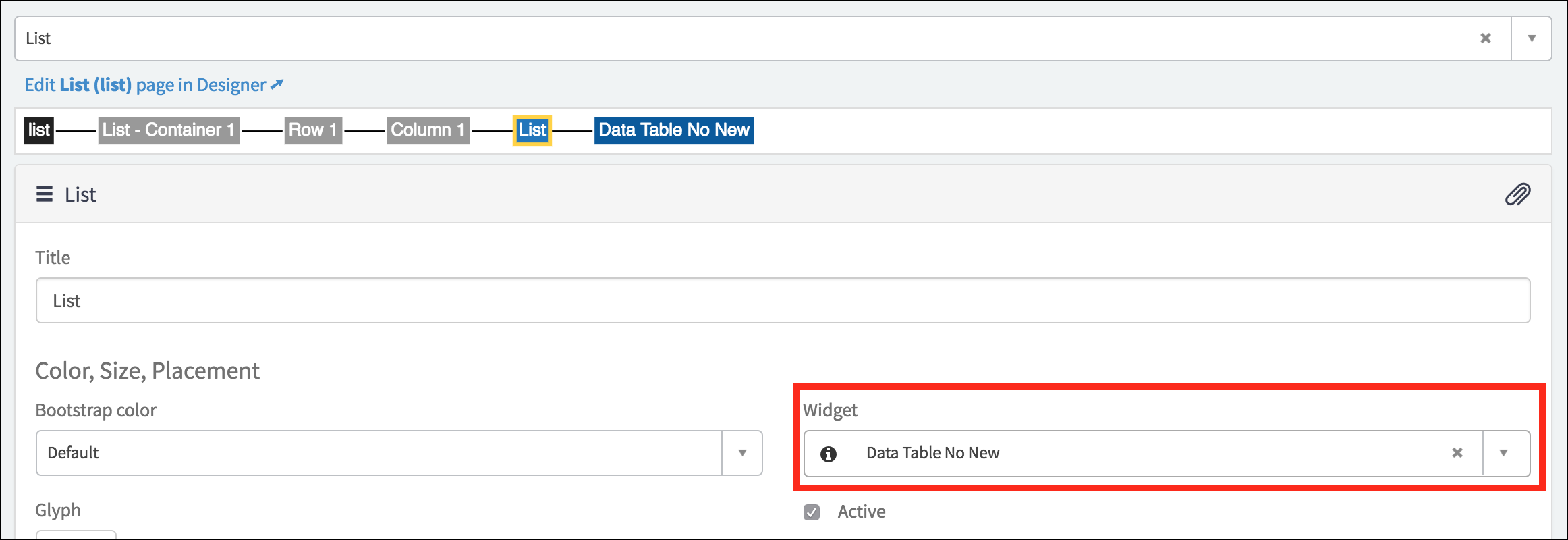 Removing the New button from Service Portal List page - Now Platform