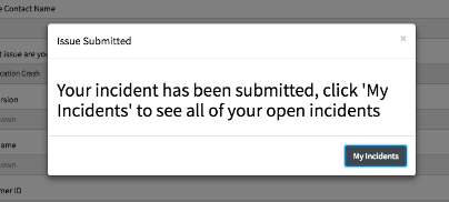 How to close modal window after record producer submitted