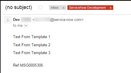 Apply Email Template In Notification Developer Community