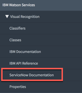 Easily Connect ServiceNow to IBM Watson Services - IT Service