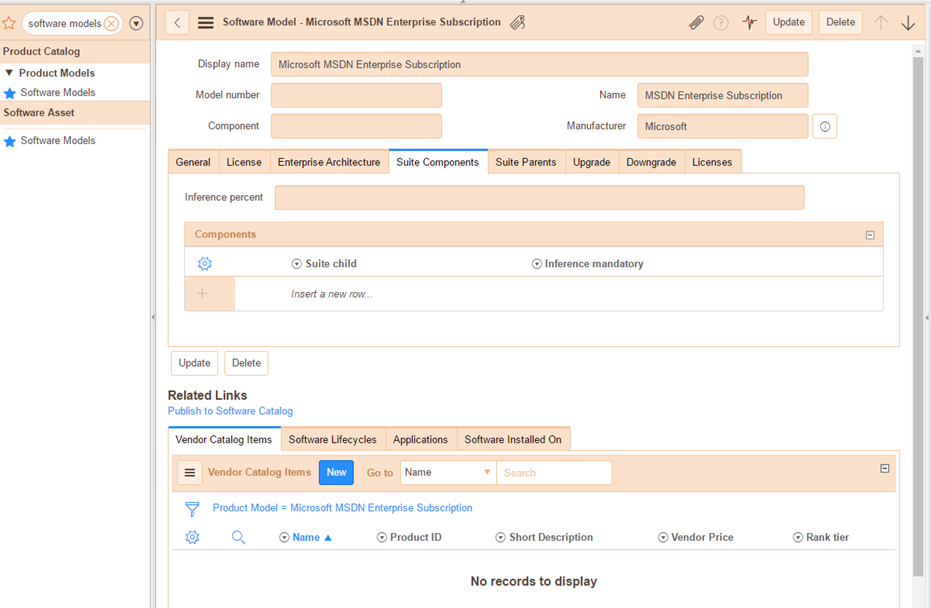 Managing MSDN Subscriptions with ServiceNow Software