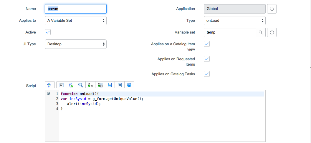 Fuji client scripts: document object is null - App Publisher