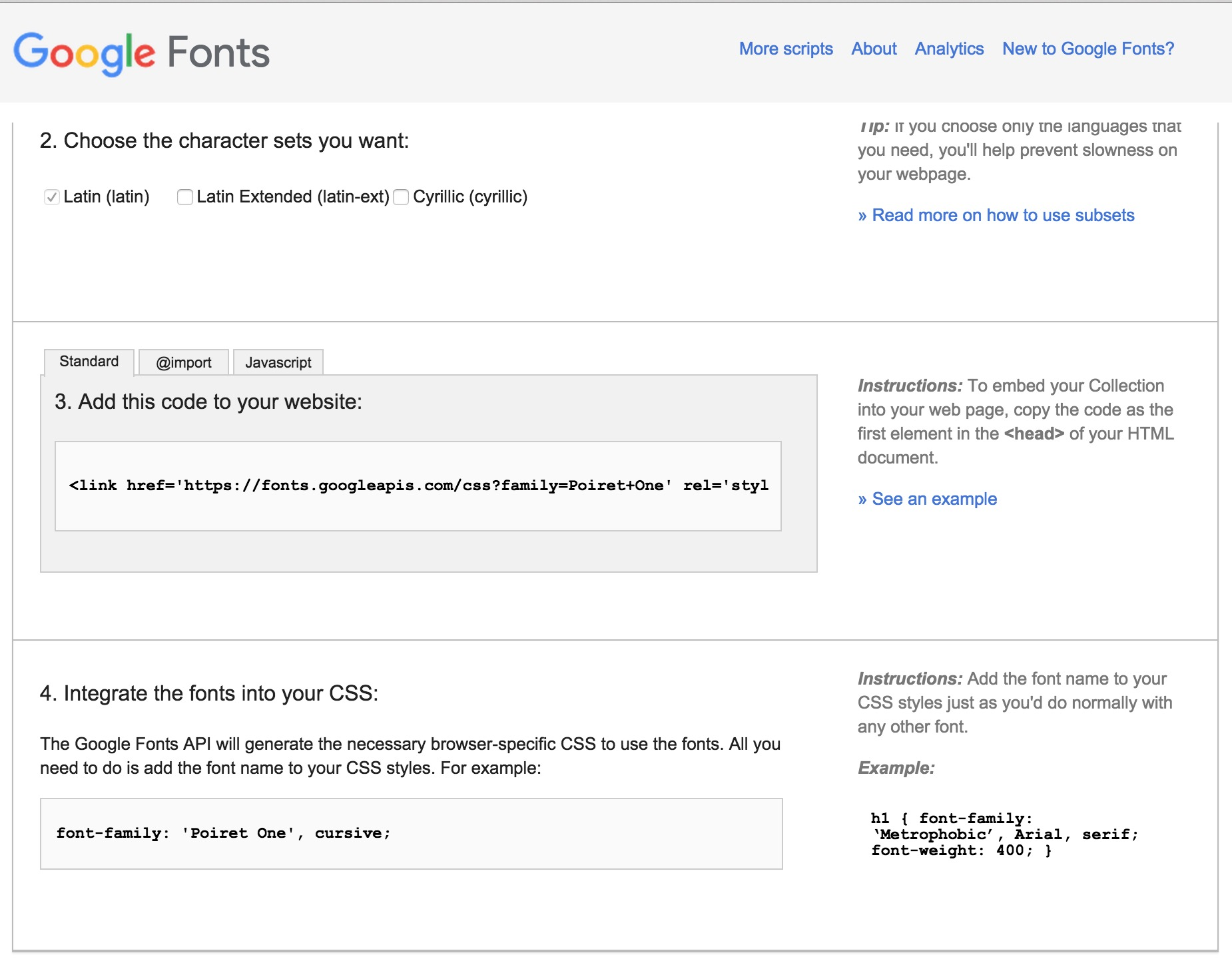 How do I get my own font on ServiceNow Portal? - Now