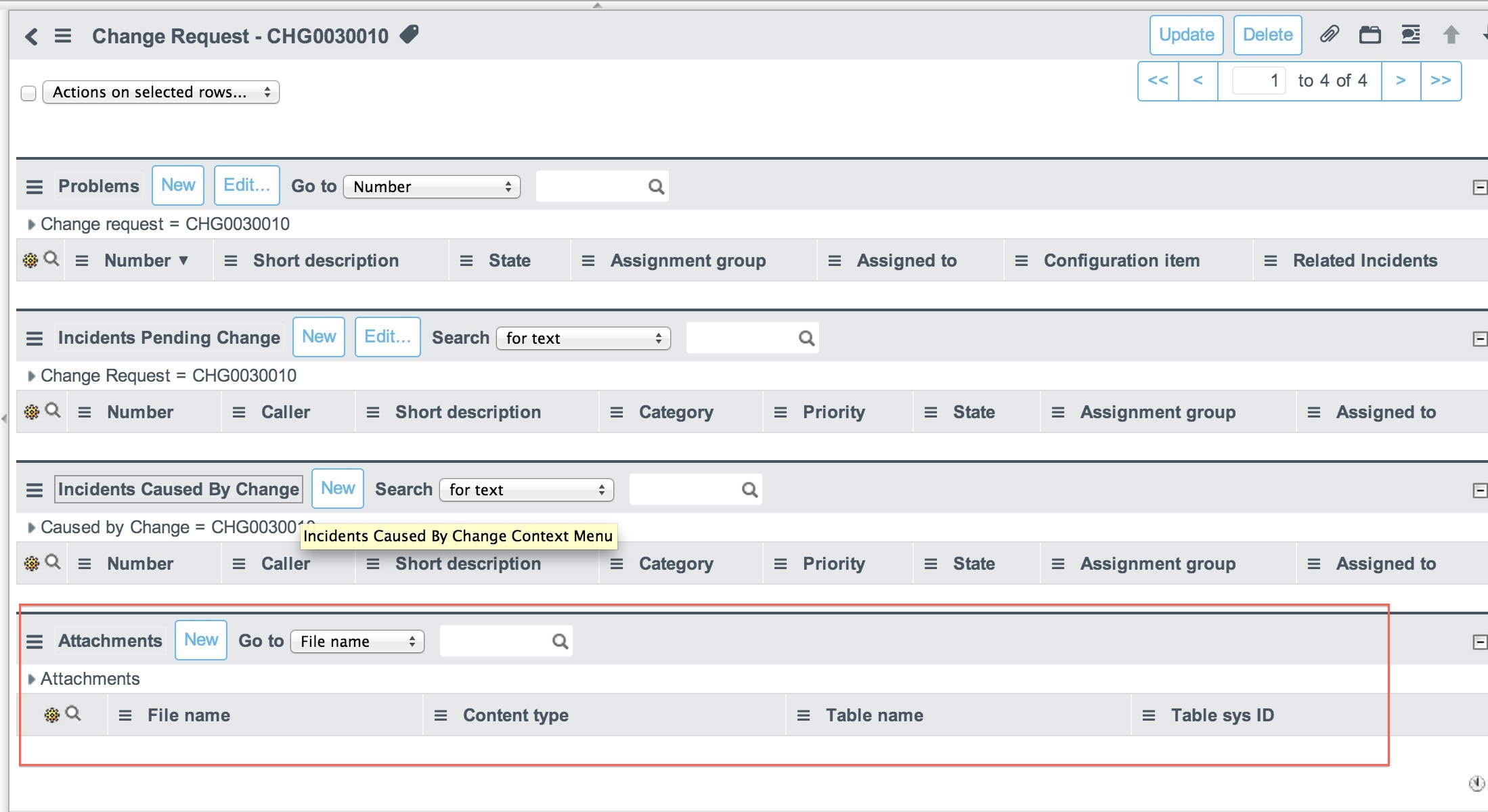 Add attachment option with a field - Now Platform - ServiceNow Community