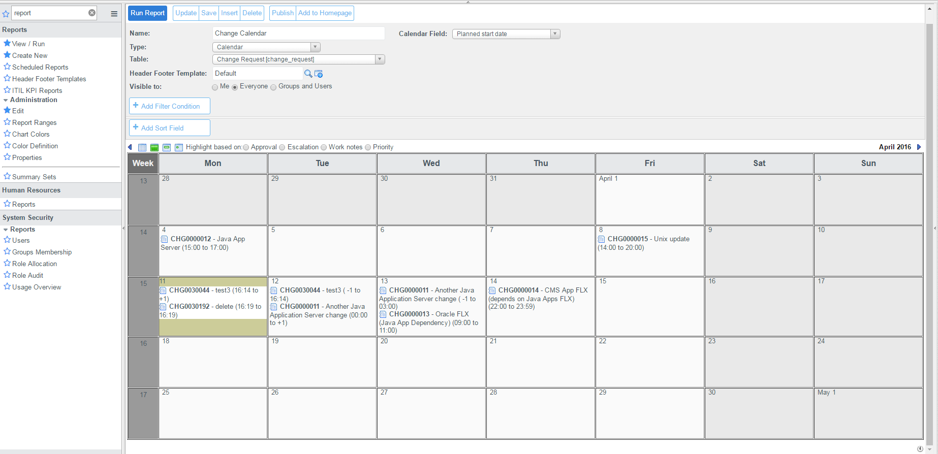 Is there a way to view change calendar in outlook? - IT Service Management  - ServiceNow Community
