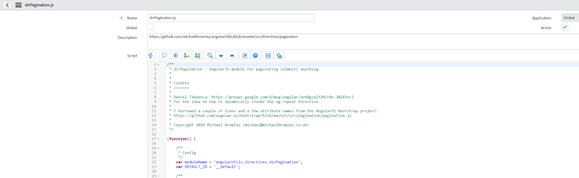 How to add directive to widget serviceportal - Developer