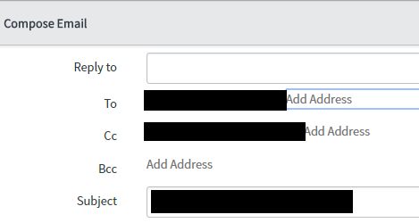How To Stop Email Client Emails Auto Sending To Cc Developer