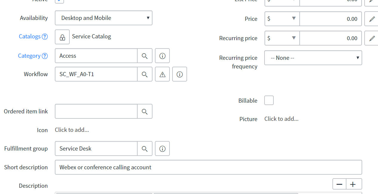 Populate Assignment Group from Catalog Item Fulfillment